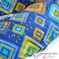 Coussin d'Allaitement Noenza Maternity+ Housse Daloa Gris Bleu