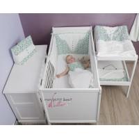 Tour de lit bébé Béréby vert